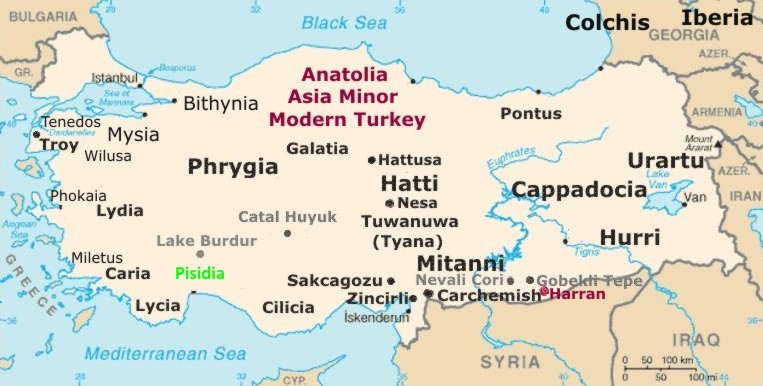 Anatolia Armenia Colchis the Artaxiads The White invasion of Turkey