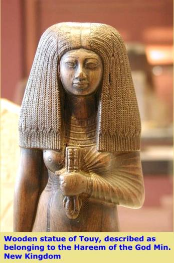 In ancient egypt women notonly shaved their heads