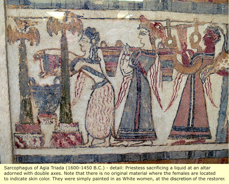 the art form constructed from this minoan the world ended up being created