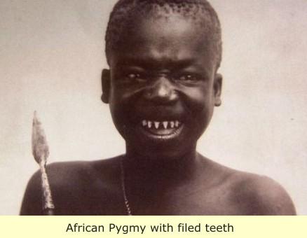 Dark african man