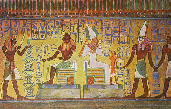 Ancient egyptian tomb decorations decorating ideas for Ancient egyptian tomb decoration