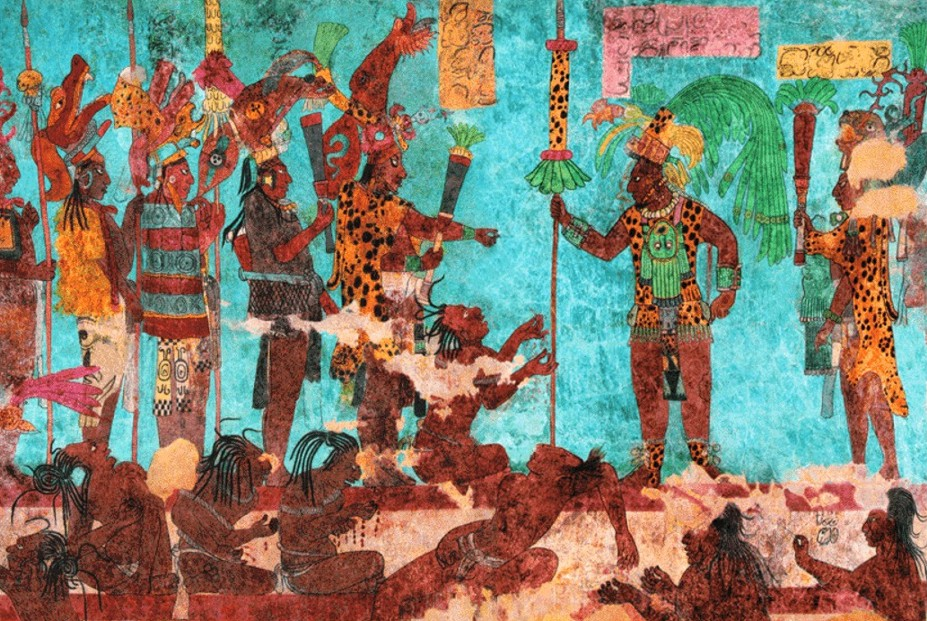 The original black civilizations of mexico and mesoamerica for El mural de bonampak