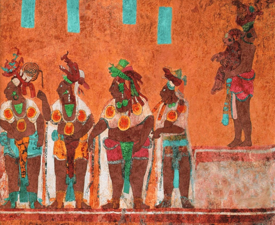 Ancient mexico the maya pictures for El mural de bonampak