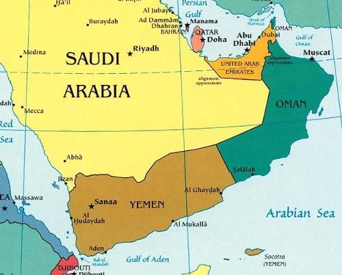 yemen and oman