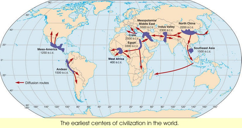 first civilizations of the early world Dards for world history and geography: ancient civilizations the standards that apply to a given section are listed on the first page of that section tothestudent iii to the student ii grade 6 california standards v chapter 1 the first civilizations section 1-1 early humans 1 section 1-2 mesopotamian civilization 7 section 1-3 new empires.
