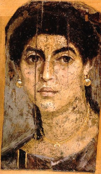 Egypt roman mummy portraits set 2 for Definicion de pintura mural
